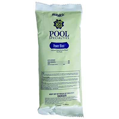 Robarb Cal-Hypo Super Strength Pool Shock 1 Pound Bag : Garden & Outdoor
