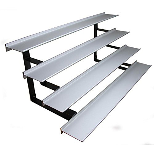 Aluminum Shelf Collapsible Display Racks Jewelry Merchandise Trade Show Fixture NEW by Bentley's Display