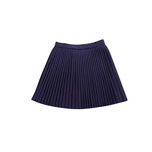 Marine Scolaire Uniforme Tennis Taille vase Minijupe De Jupe Femmes lastiqueplisse De OHzvwwqFx