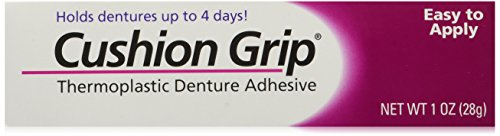 Cushion Grip Thermoplastic Denture Adhesive 1 Oz Pack Of 2