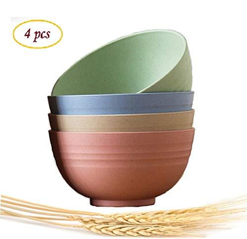 Choary Lightweight Degradable Wheat Straw Bowls 6