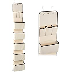 Over The Door Hanging Wall Organizer with 8 Pockets