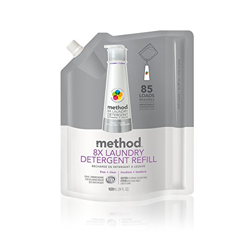 method-8x-laundry-detergent-refill-free-clear-34-ounce-85-loads