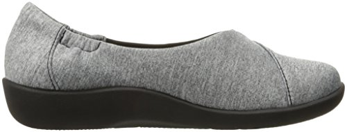 mujer Jetay Grey Heathered soporte Sillian de Clarks cloudsteppers Fabric xtWvtd