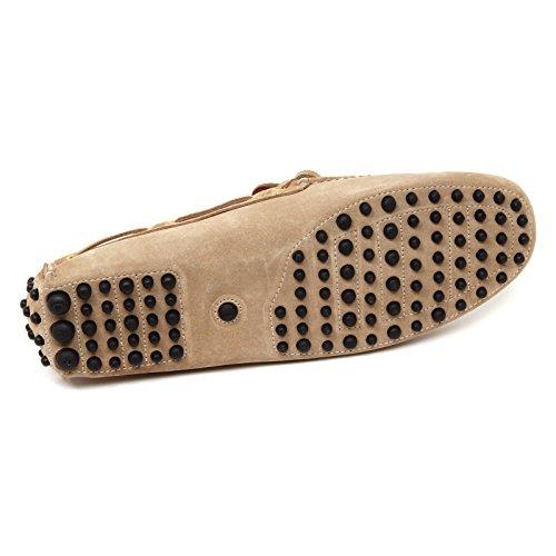 D0682 mocassino uomo CAR SHOE scarpa beige loafer shoe man Beige
