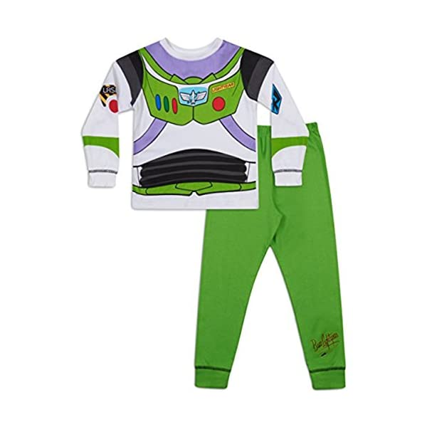 Boys Toy Story Buzz Lightyear Woody pigiama 18–24mesi 2–3 anni 3–4 anni 4–5 anni 5–6 anni 1