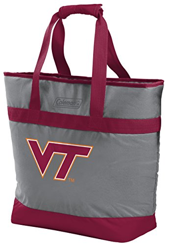- Rawlings NCAA Virginia Tech Hokies Unisex 07883111111NCAA 30 Can Tote Cooler (All Team Options), Red, X-Large