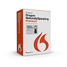 Nuance Communications, Inc. Dragon NaturallySpeaking Premium 13, w/Digital Recorder (Mobile), English