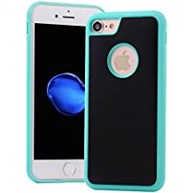 For iPhone 5S/5/SE Case,Hica Anti-gravity Nano Suction Magic Technology Sticky Lightweight Slim Phone Protective Back Case Cover for iPhone 5S/5/SE 4.0 Inch,Green