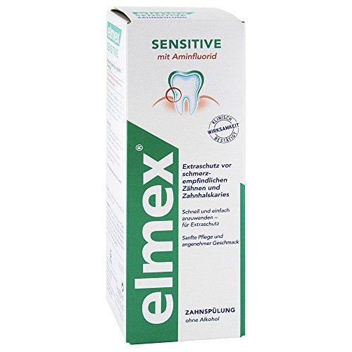 ELMEX SENSITIVE Zahnspülung 400 ml Lösung