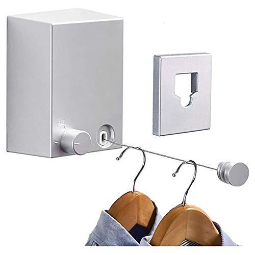 Retractable Clothesline Adjustable 13.8