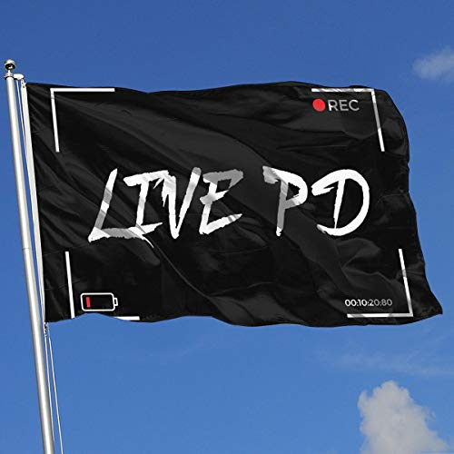 QphonesFlag Rec-Live-PD Flag 3x5-Flags 90x150CM-Banner 3'x5' FT
