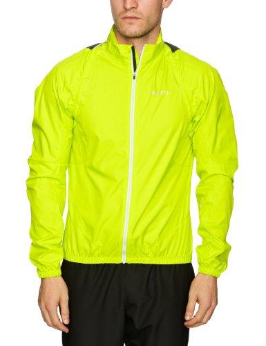- Craft Sportswear Active Bike Convertible Rain Jacket Men (XL, Amino Yellow)