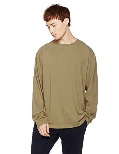 Something-For-Everyone-Mens-Long-Sleeve-Color-Stitching-Crewneck-T-Shirt