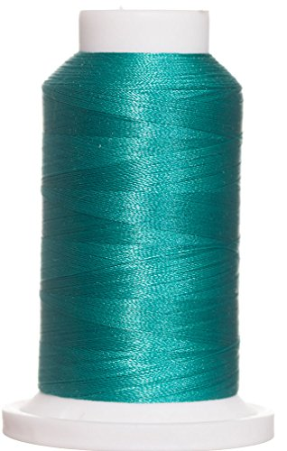 - 1M-3542 BFC Poly Machine Embroidery Thread, 40 Wt, 1000m, DK Teal