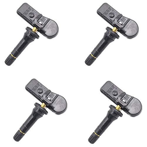 Nrpfell Sensori di monitoraggio della Pressione dei Pneumatici TPMS 4 pz per Peugeot Citrn M 9802003680