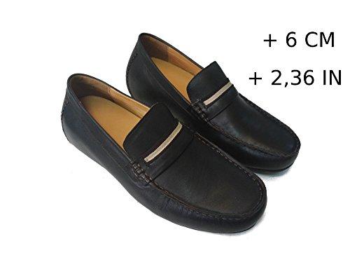 Zeraltos - Chassures réhaussantes pour homme, +6 Cm plus grand! Chaussures en cuir de qualité