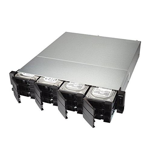 Qnap TS-1231XU-RP-4G-US 12-Bay ARM-based 10G NAS, Quad Core 1.7GHz, 4GB DDR3 RAM, 2 x 10GbE SFP+, 2 x GbE, Redundant Power Supply by QNAP (Image #1)