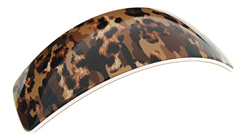 France Luxe Tapered Volume Barrette - Jungle Beige
