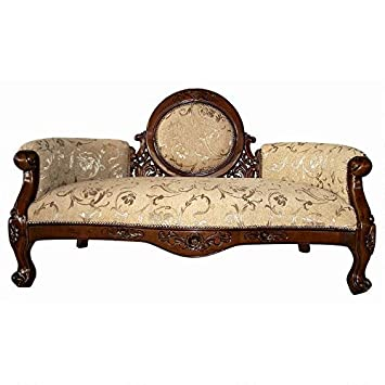 Phenomenal Design Toscano Victorian Cameo Backed Settee Cherry Gmtry Best Dining Table And Chair Ideas Images Gmtryco