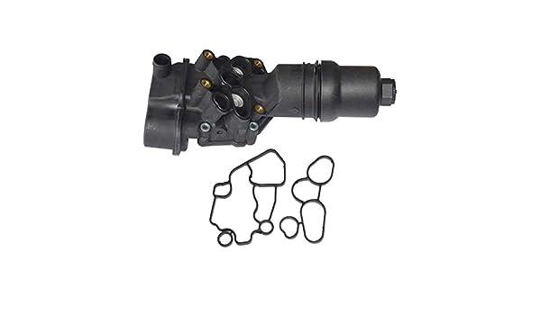 Mingmeng86 OE# 06F-115-397-J 06F-115-397-F 06F-115-397-H Radiador de aceite de alta calidad: Amazon.es: Coche y moto