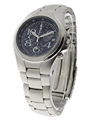 Seiko Mens Stainless Steel 100 Meter Chronograph Watch SND333 [Watch]