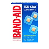 Band-Aid Brand Tru-Stay Clear Spots Bandages for