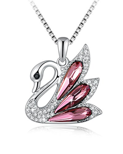 cb9d7a3cdb89a SUE'S SECRET ♥Gift Packing♥ Crystals from Swarovski Butterfly Lover Pendant  Necklace with Swarovski Crystals, 18