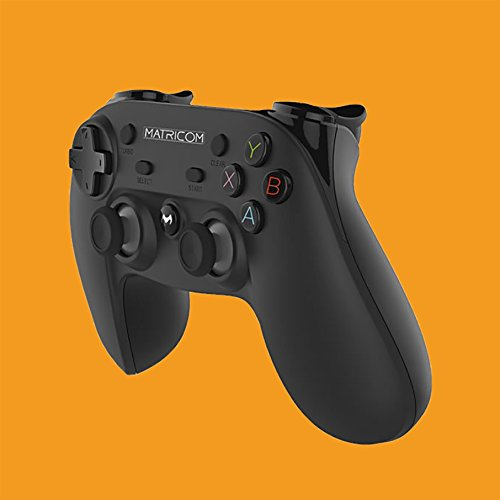 41jQqkiEgWL - Matricom G-Pad XYBA Wireless Rechargeable Bluetooth Pro Game Pad Joystick Controller (Samsung Gear VR, PC, PS3, and G-Box Compatible!)