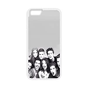 Popular And Durable Designed TPU Case with Teen Wolf iPhone 6 Plus 5.5 Inch Cell Phone Case White