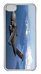iPhone 5C Case, Personalized Custom War Airplane 43 for iPhone 5C PC Clear Case