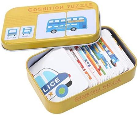 babyzhang Baby Kids Puzzles de cognición Juguetes Tarjetas de Caja ...