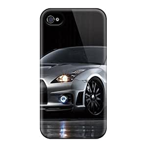 New Style Case Cover AvRlEDa8947rIuEe Wald Nissan Gtr Sports Line Compatible With Iphone 4/4s Protection Case