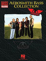 Hal Leonard Aerosmith Collection Bass Guitar Tab Songbook