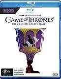 Game of Thrones Season 4 | Robert Ball Cover | Ltd Edition | NON-USA Format | Region B Import - Australia