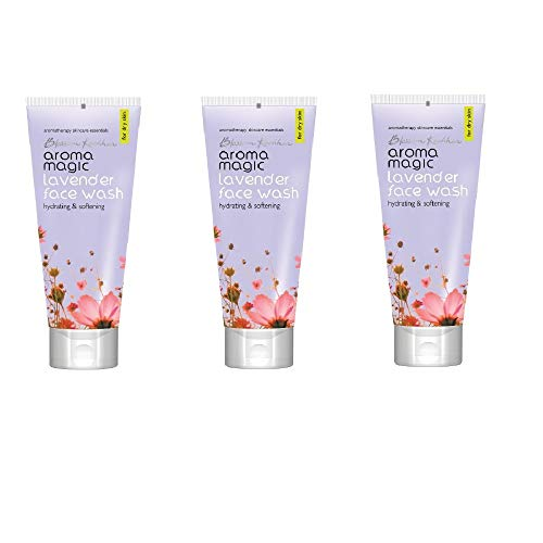 Aroma Magic Lavender Face Wash 100ml Pack Of 3