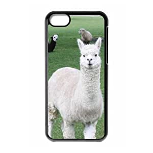 linJUN FENGProtection Cover Hard Case Of Lama Pacos Cell phone Case For iphone 5/5s
