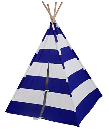 wildkin-canvas-teepee-playhouse-blue-white