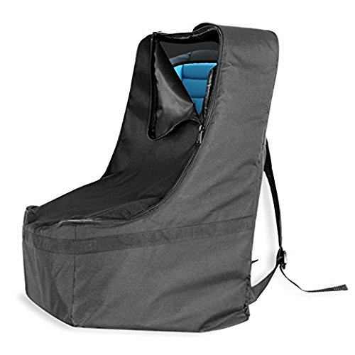 KHOMO GEAR Car Seat Travel Backpack Bag, Black, Universal