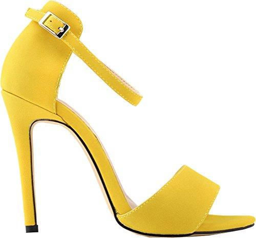 Zapatos amarillos formales Salabobo para mujer MrVDhbfvjY