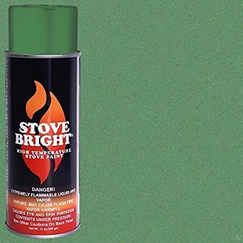 (Stove Bright High Temp Paint - Green Illusion)