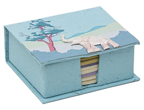 Mr. Ellie Pooh Robin's Egg Blue Box with Note Paper (150-855301003041)