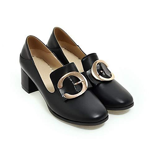 Femme AdeeSu 5 Sandales Noir SDC05547 Compensées Noir 36 qAAw4rt