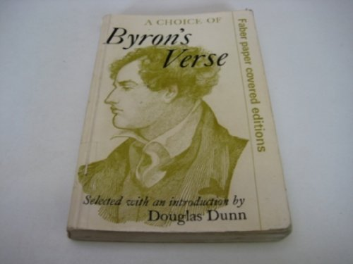 A Choice of Byron's Verse