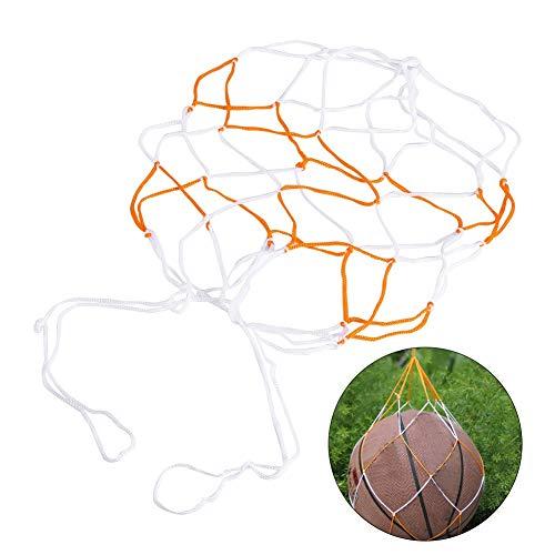Daphot-Store - Cheap! 5Pcs/Lot Nylon Ball Mesh Net Bag Soccer Football Basketball Volleyball Holder (Soccer Net Holder)
