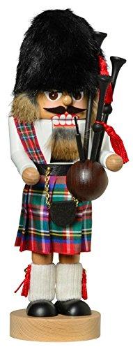 German Christmas Nutcracker Scotsman - 30cm / 11.8inch - KWO - Kwo German Nutcracker