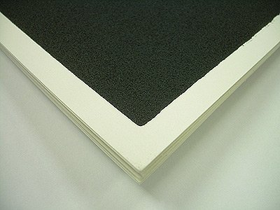 Richesons Premium Pastel Surface- Black 140lb Paper Pack of Ten 12x16 Inch Sheets