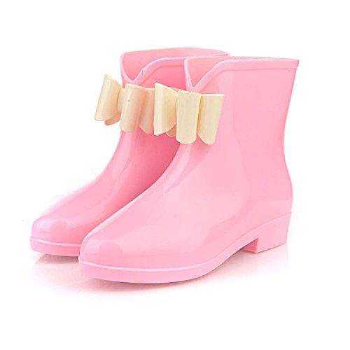 de pink moda lluvia damas otoño botas y Alger 36 Primavera q8SwU8Y