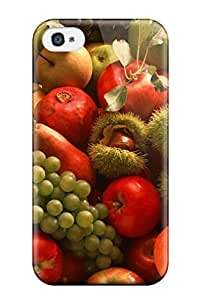 4/4s Scratch Proof Protection Case Cover For Iphone Hot Fruit Phone Case