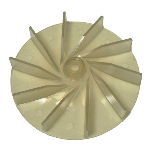 Sanitaire Commercial & Eureka Upright Lexan Plastic Replacment Fan Aftermarket Part # 20-8605-01 ()